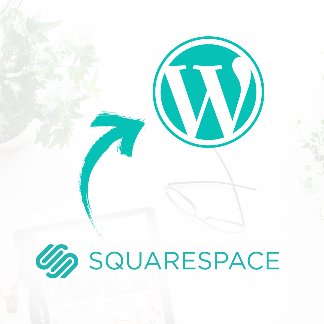 Squarespace to WordPress migration service