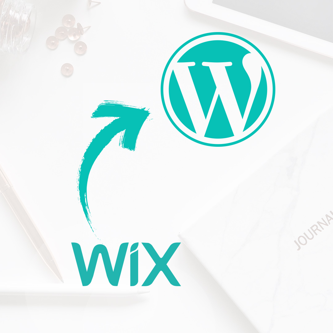 Wix to WordPress migration service