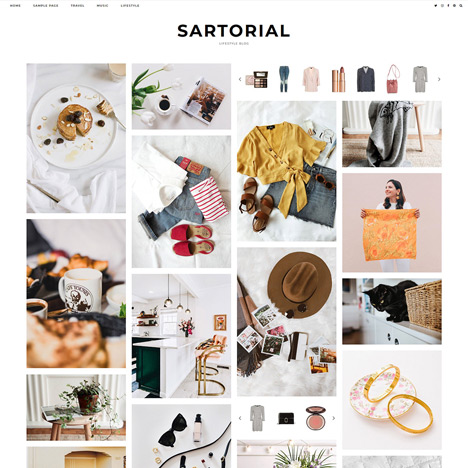 WordPress Theme: Sartorial