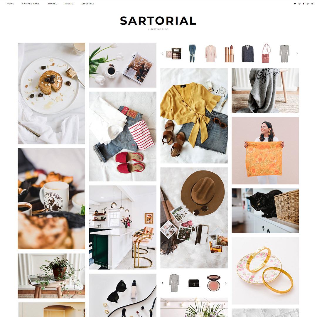 WordPress Theme: Sartorial