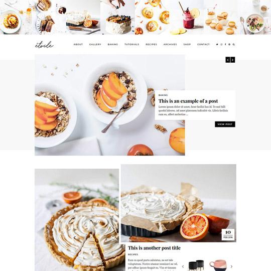 WordPress Theme: Etoile