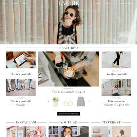 WordPress Theme: Lavoie