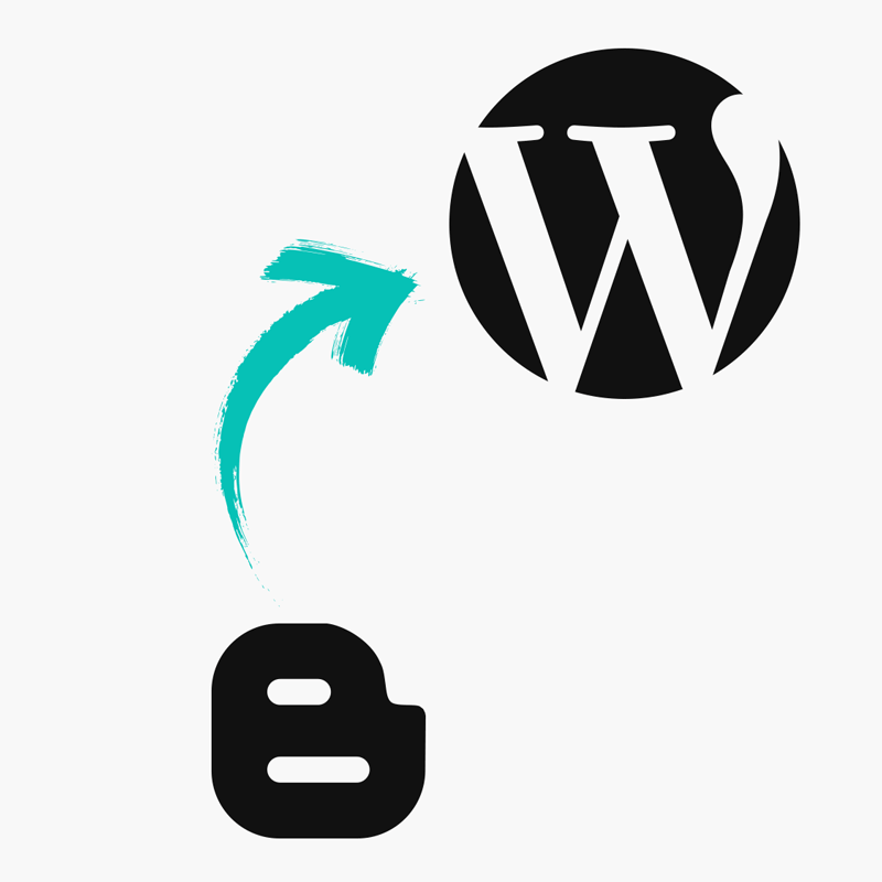 Blogger to WordPress migration service