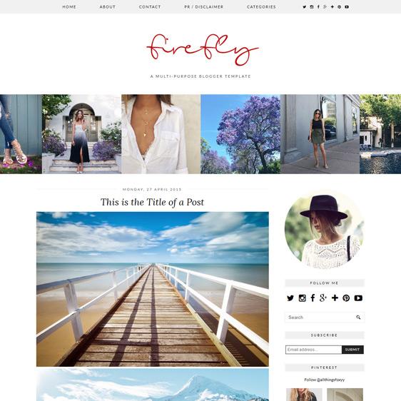 Multip-purpose Blogger Template