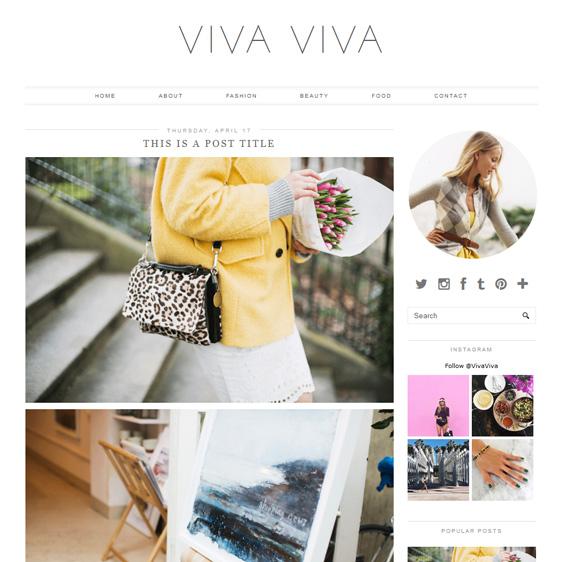 Blogger Template: Viva Viva