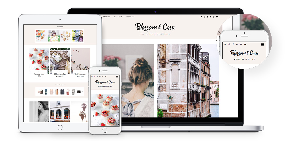 Blossom WordPress theme