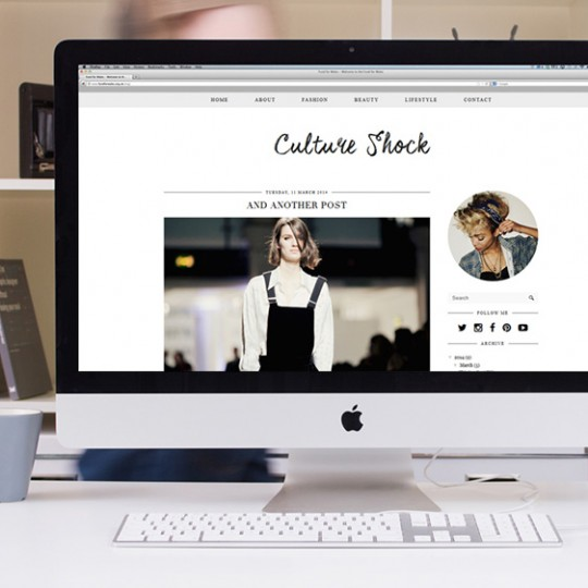 Blogger Template: Culture Shock