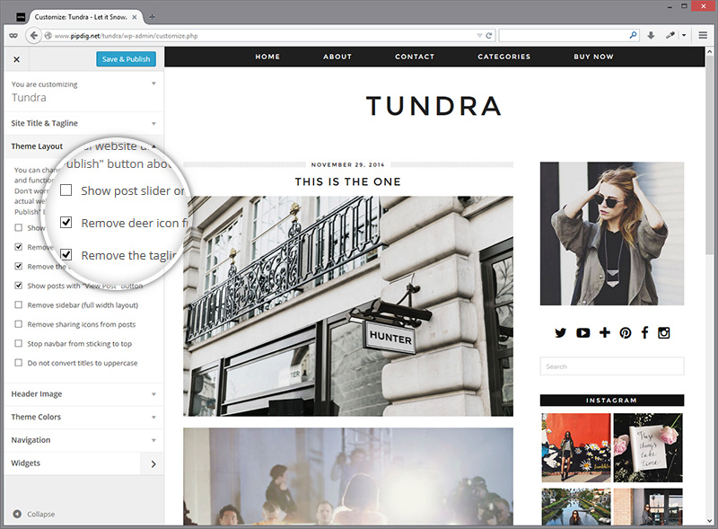 customiser-tundra-layout