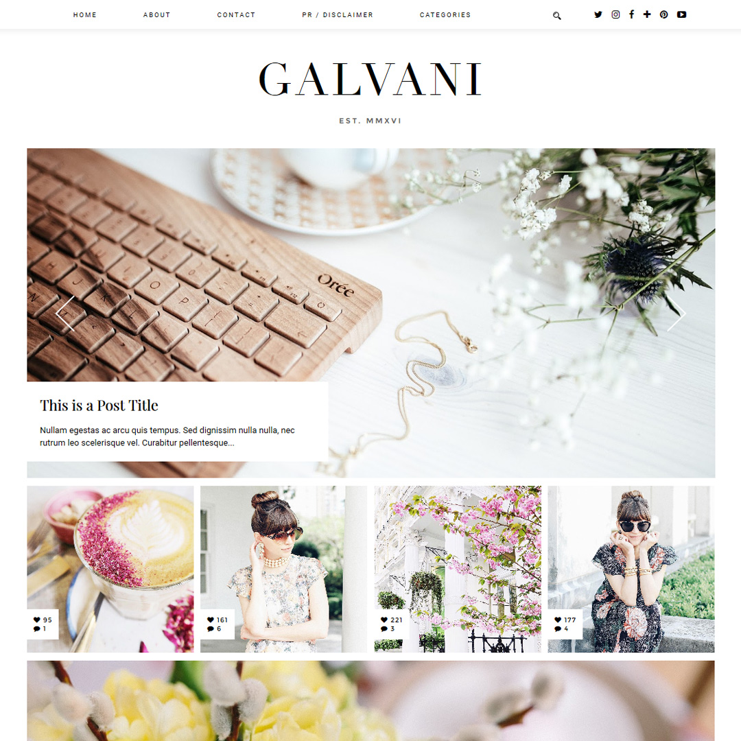 galvani_blogger_template