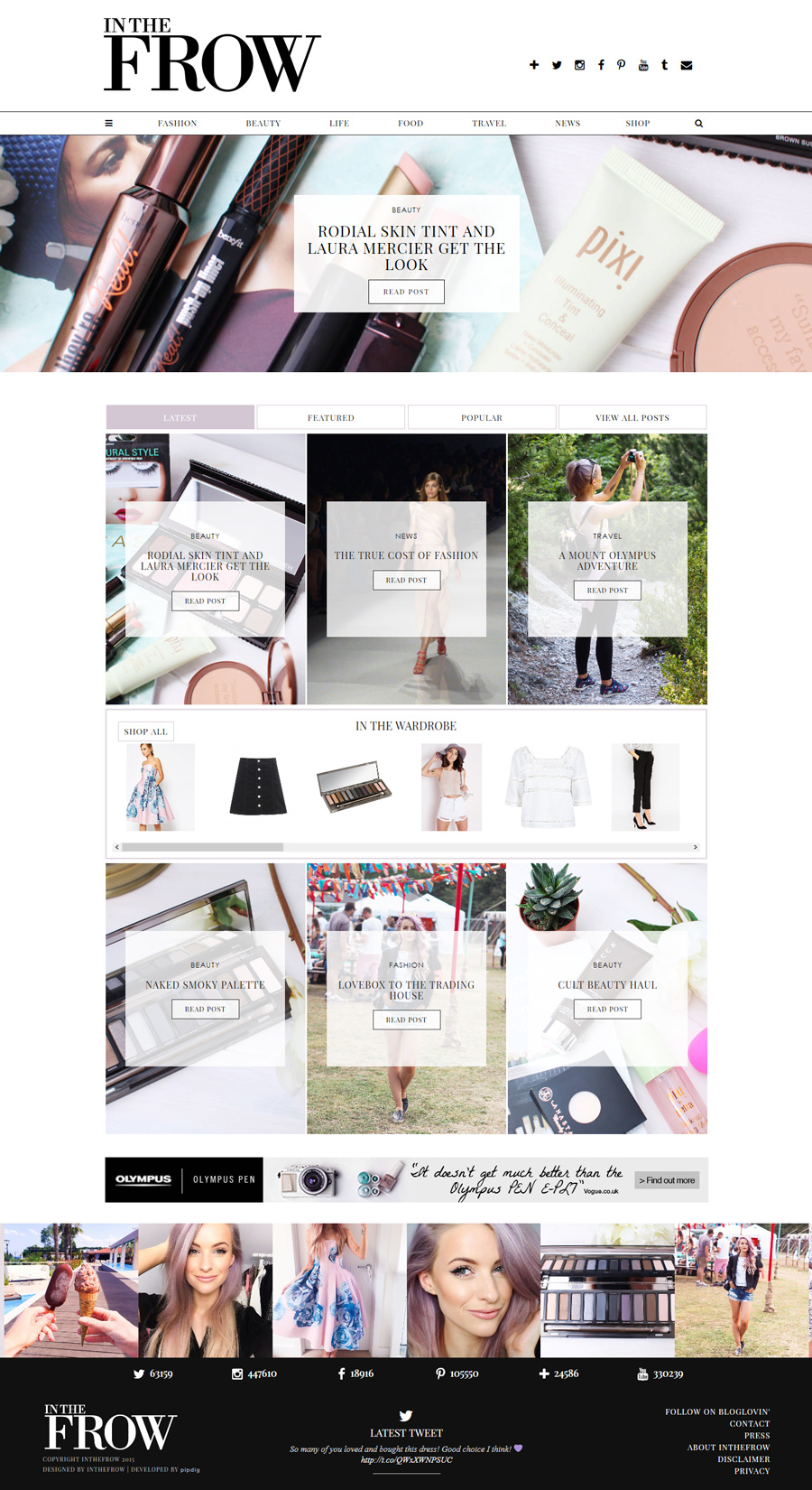 Inthefrow.com - Home Page