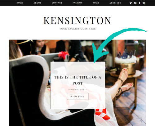 Kensington WordPress Theme