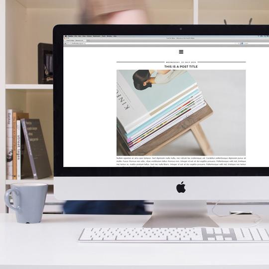 minimal-blogger-template-design