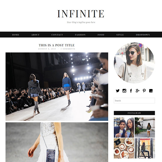 WordPress Theme: Infinite