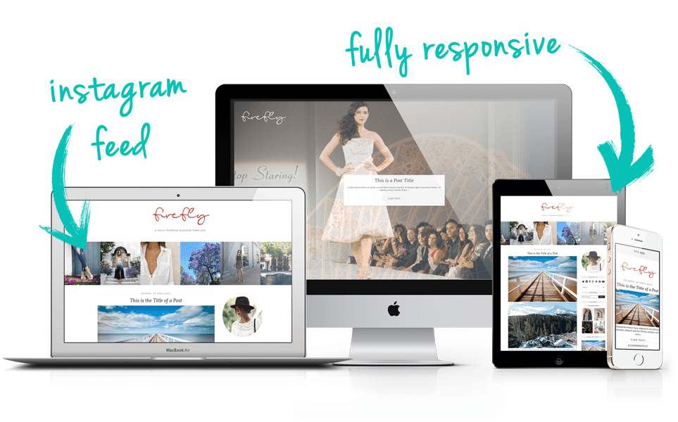 Designer Blogger template