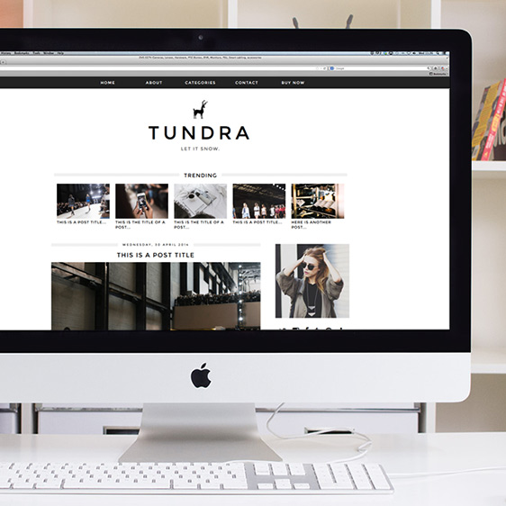Tundra Blogger Template