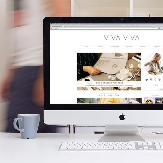 Viva Viva Blogger Template