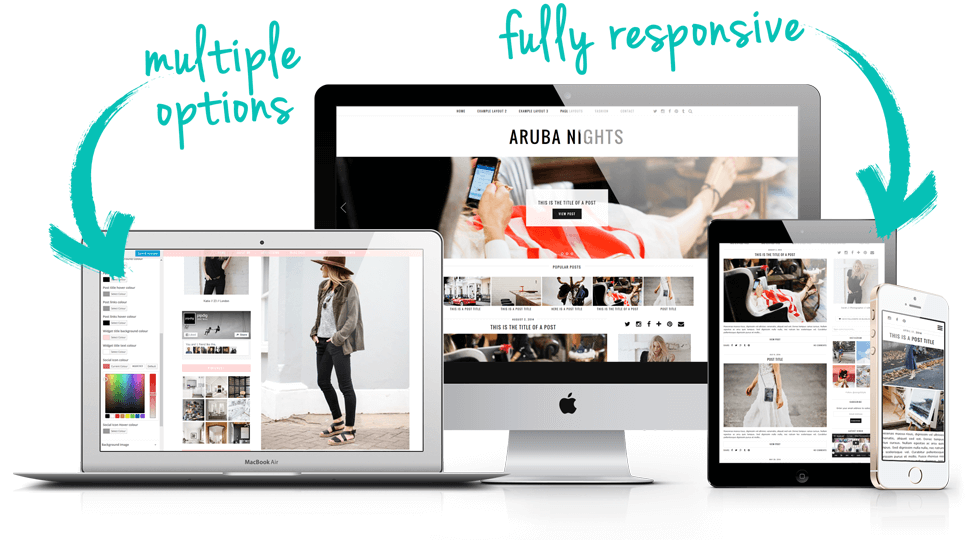minimal wordpress theme